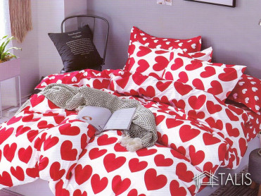 Lenjerie Red Heart (Bumbac Satinat)
