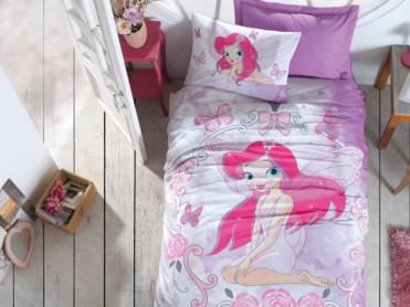 Lenjerie Copii Fairy Lila (Bumbac 100%)