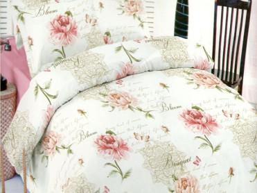Lenjerie Floral Roz DELUXE Pucioasa