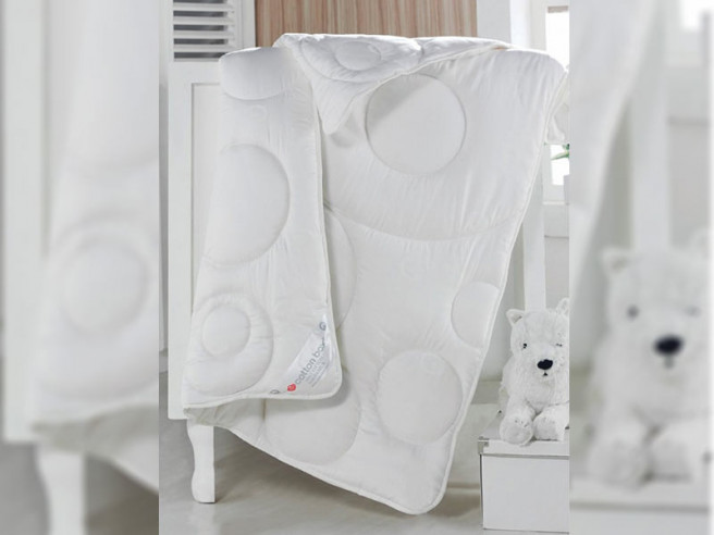 Pilota pentru pat Bebelusi Cottonbox (Bumbac 100%)