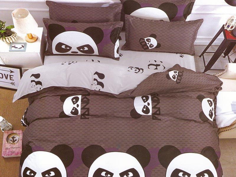 Lenjerie Cool Panda (Bumbac Satinat)