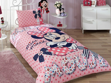 Lenjerie Minnie Mouse (Bumbac 100%)