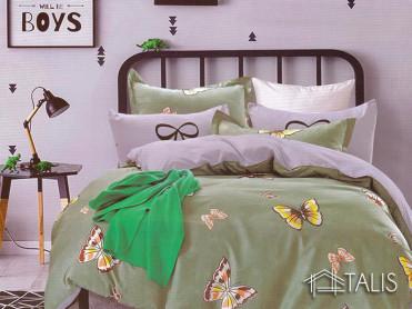 Lenjerie Green Butterfly (Bumbac Satinat)