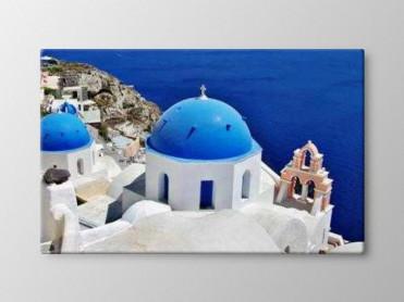 Tablou Canvas Santorini