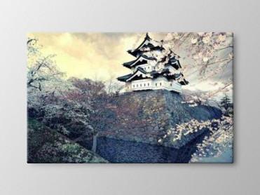 Tablou Canvas Castel Japonia