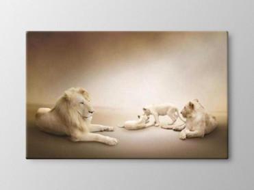 Tablou Canvas Familie de Lei