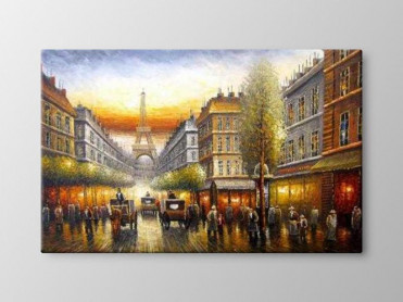 Tablou Canvas Catre Turnul Eiffel