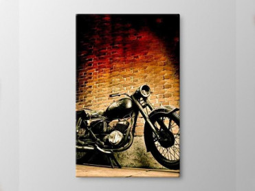 Tablou Canvas Old Moto
