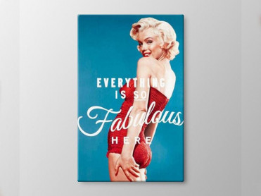 Tablou Canvas Marylin Monroe 2