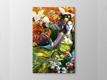 Tablou Canvas Chinese Full Color