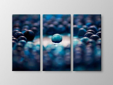 Tablou Canvas 3 Piese Abstract Glass Ball