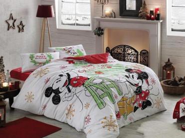 Lenjerie Copii Minnie & Mickey Yeni (Bumbac 100%)