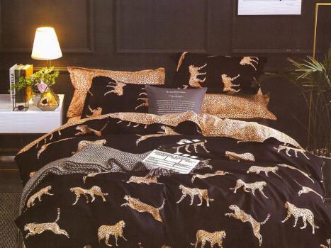Lenjerie Leopard (Bumbac Satinat)