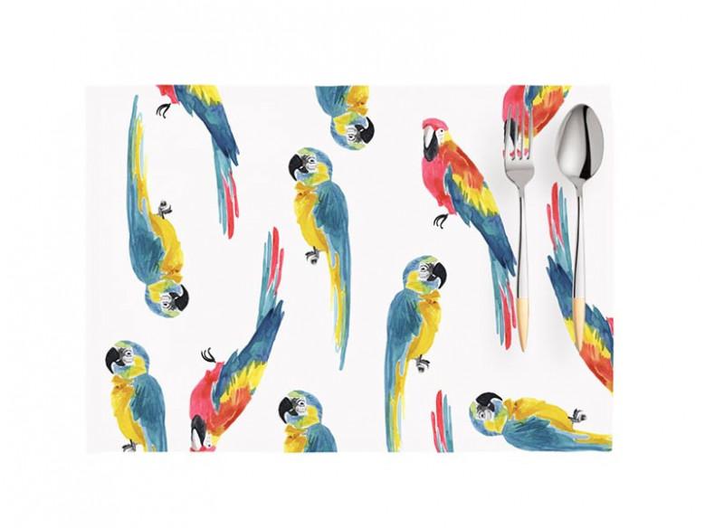 Set 2 Suporturi Farfurie Parrot, 33x45