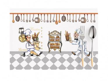 Set 2 Suporturi Farfurie Chef V1, 33x45