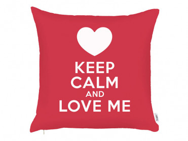 Fata de Perna Keep Calm V1, 43x43 cm