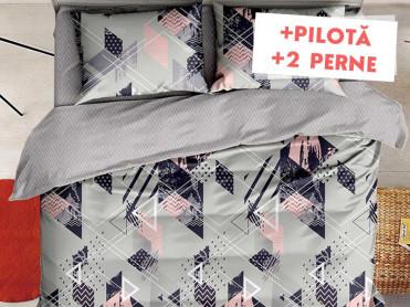 Pachet Lenjerie + Pilota + Perne Distort (Finet)