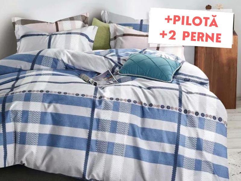 Pachet Lenjerie + Pilota + Perne Avaron (Finet)