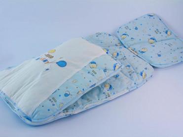Saculet de dormit Bebelusi Milly V1 (Bumbac 100%)