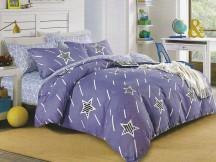 Lenjerie Purple Star (Bumbac Creponat)
