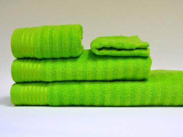 Set 4 Prosoape, Diverse Marimi, Bukle Green (Bumbac 100%)