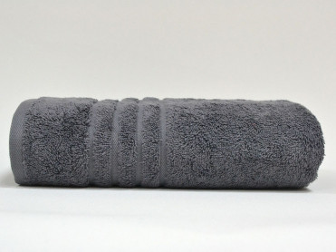 Prosop 50x100 Kanalli Dark Grey (Bumbac 100%)