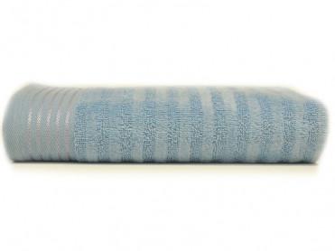 Prosop 50x90 Stripe Albastru (Bumbac 100%)