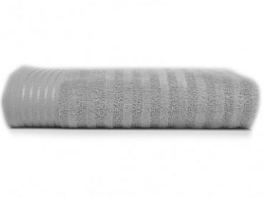 Prosop 50x90 Stripe Silver (Bumbac 100%)