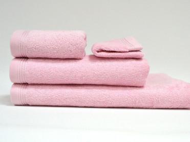 Set 4 Prosoape, Diverse Marimi, Excelence Light Pink (Bumbac 100%)