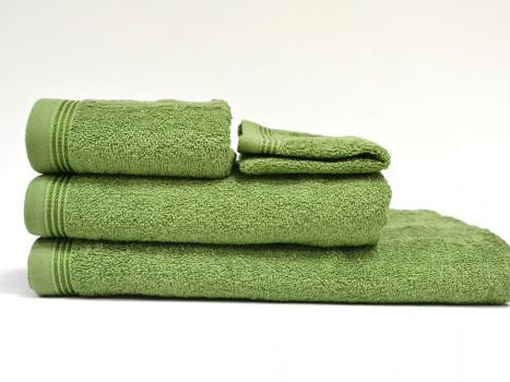 Set 4 Prosoape, Diverse Marimi, Excelence Dark Green (Bumbac 100%)