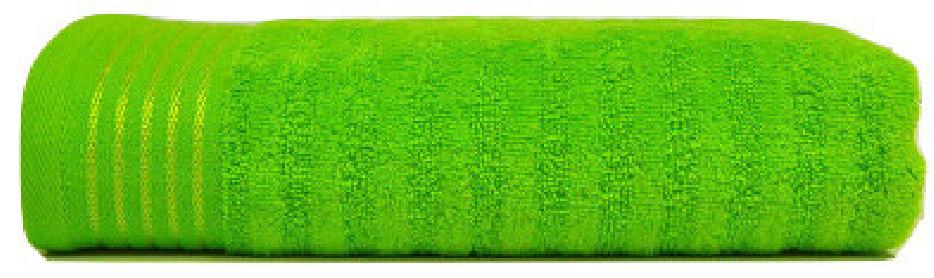 Prosop 50x90 Stripe Verde (Bumbac 100%)
