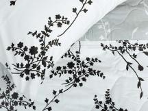 Cuvertura Matlasata, 3 Piese, Blumen V4 (Bumbac 100%)
