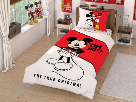 Lenjerie Copii Mickey True Original (Bumbac 100%)