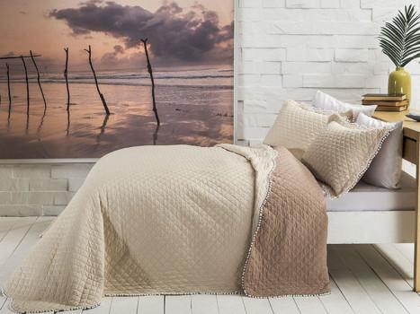 Cuvertura Muse Bej, 180x240 cm