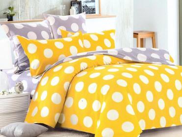 Lenjerie Yellow Spots (Bumbac Satinat)