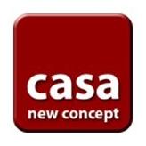 casa new concept logo